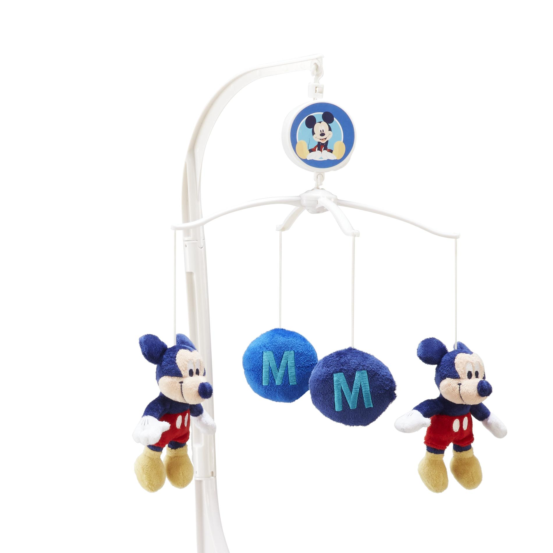 Mobile Crib Musical Disney Infant 39;s Musical Mobile M Is For Mickey