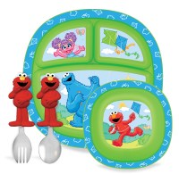 Munchkin Sesame Street Toddler Dining Set - Baby - Feeding ...