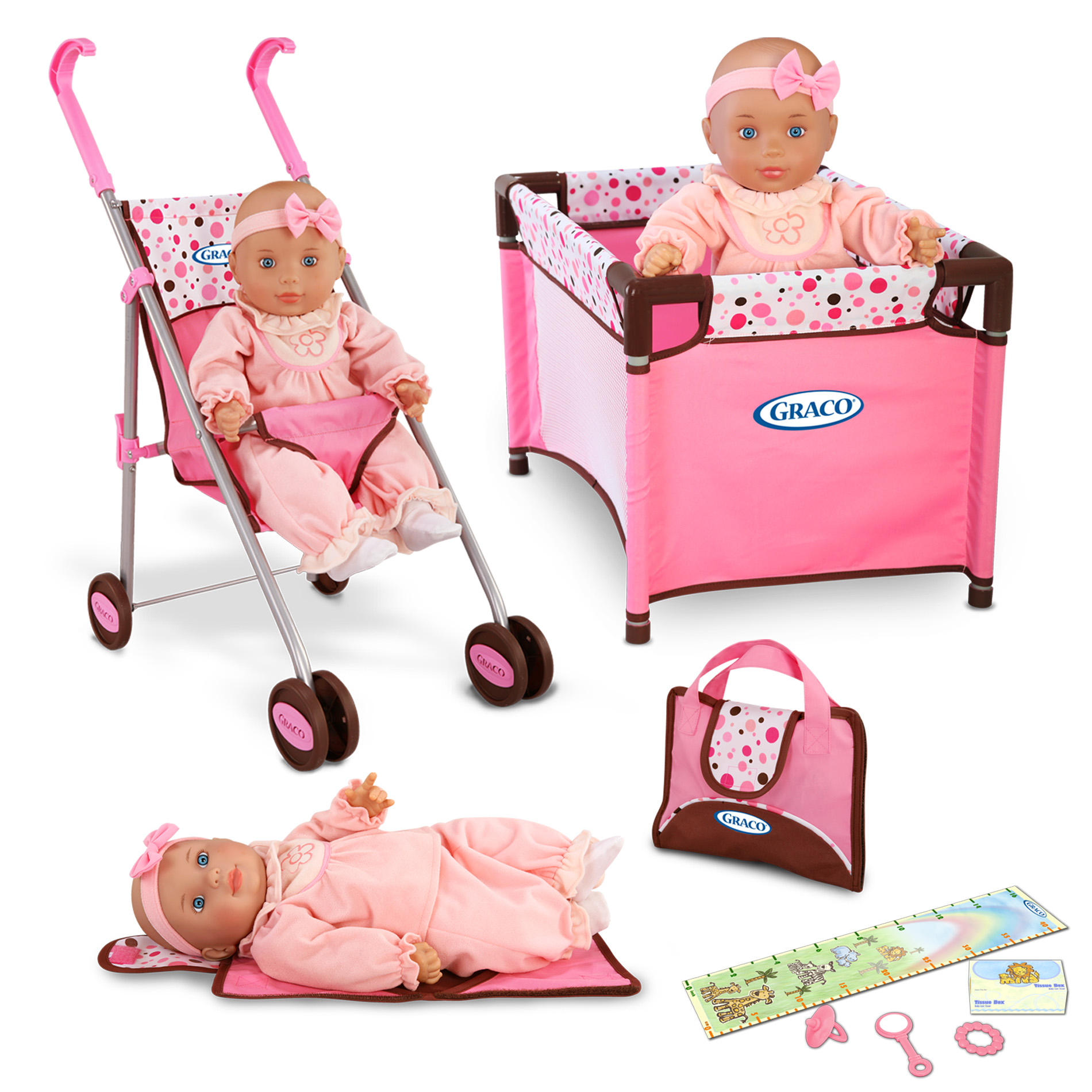 Baby Care Playpen Reviews Graco Doll Playset Taking Care Of The Babies In Style At