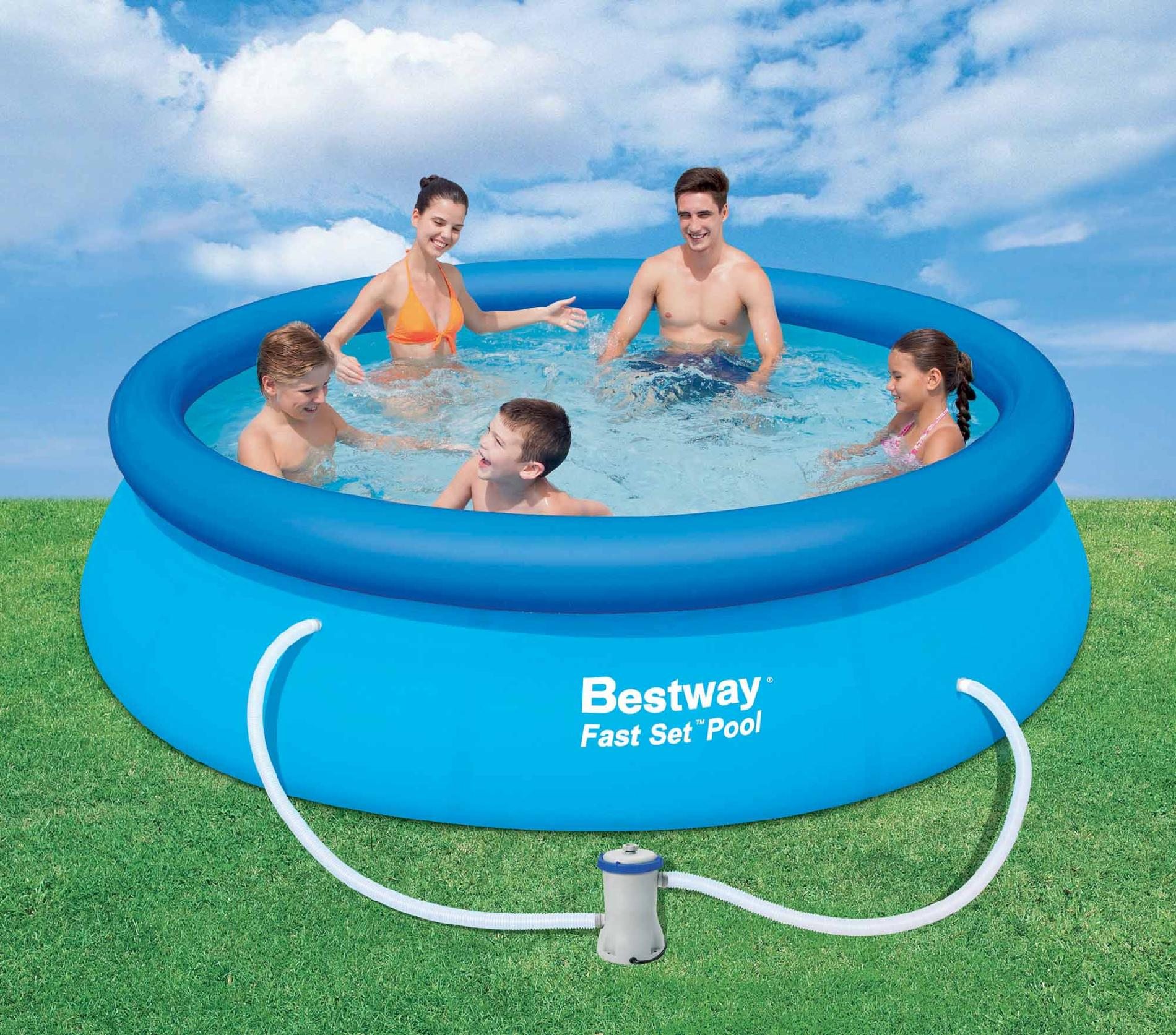 Chlortabletten Quick Up Pool Fast Set Inflatable Pool Has Easy Set Up And Low