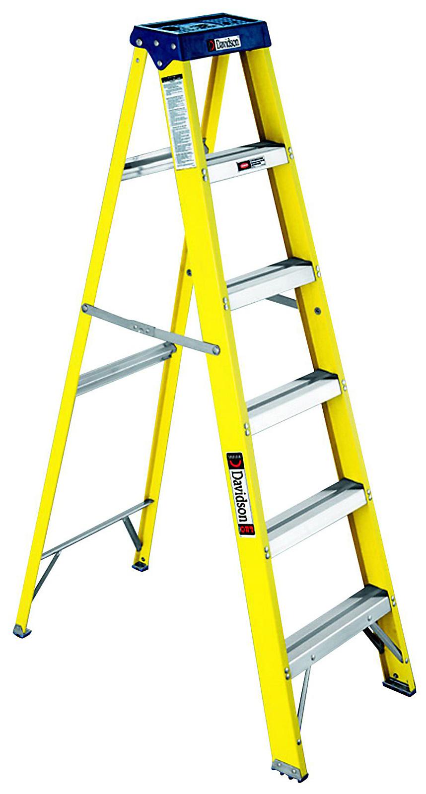 Davidson 639 Fiberglass Step Ladder Tools Garage