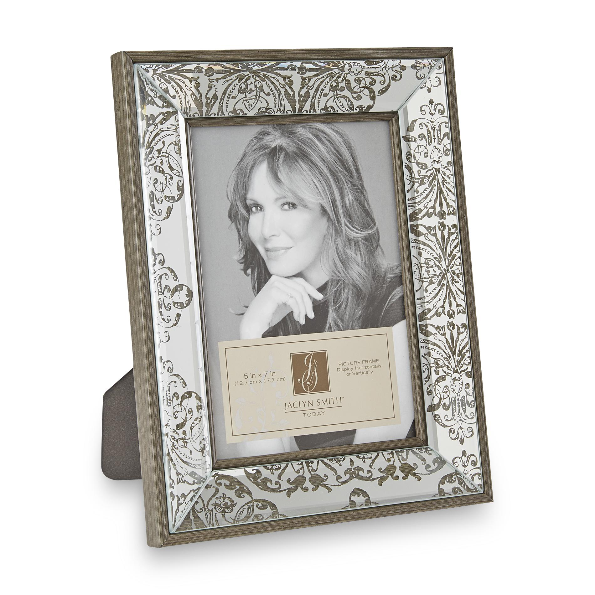Mirrored Picture Frames Jaclyn Smith 5 Quot X 7 Quot Mirrored Picture Frame