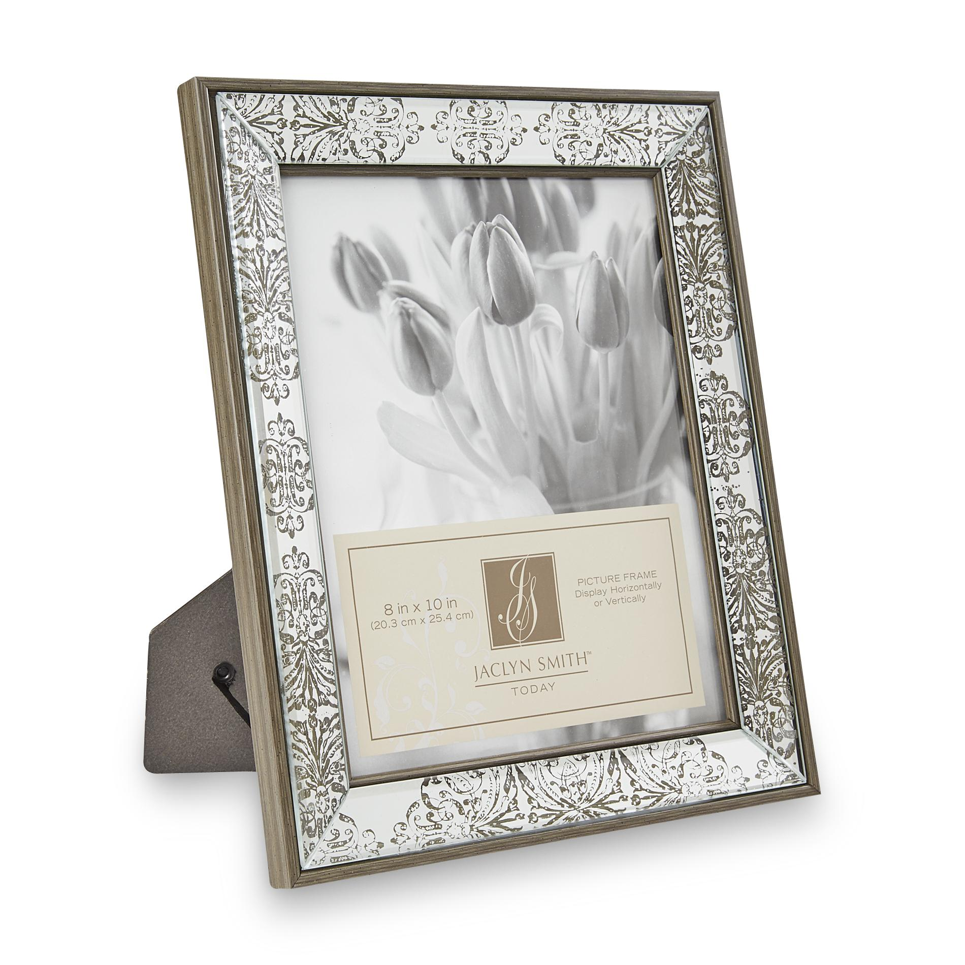 Mirrored Picture Frames Jaclyn Smith 8 Quot X 10 Quot Mirrored Picture Frame