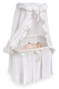 Badger Basket 30060 Majesty Bassinet with Canopy and ...