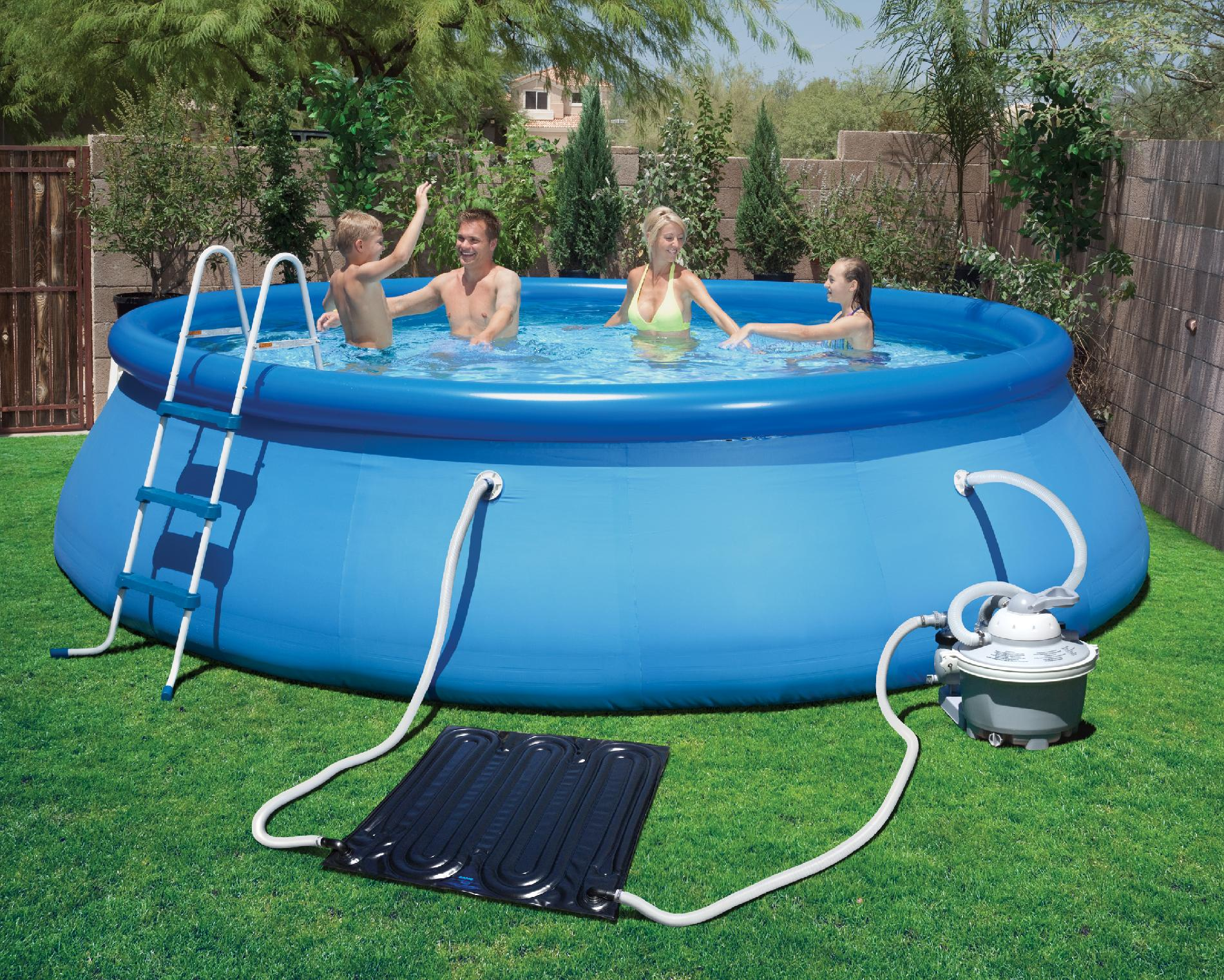 Wave Piscina Blue Wave Solarpro Ez Mat Solar Heater For Above Ground Pools