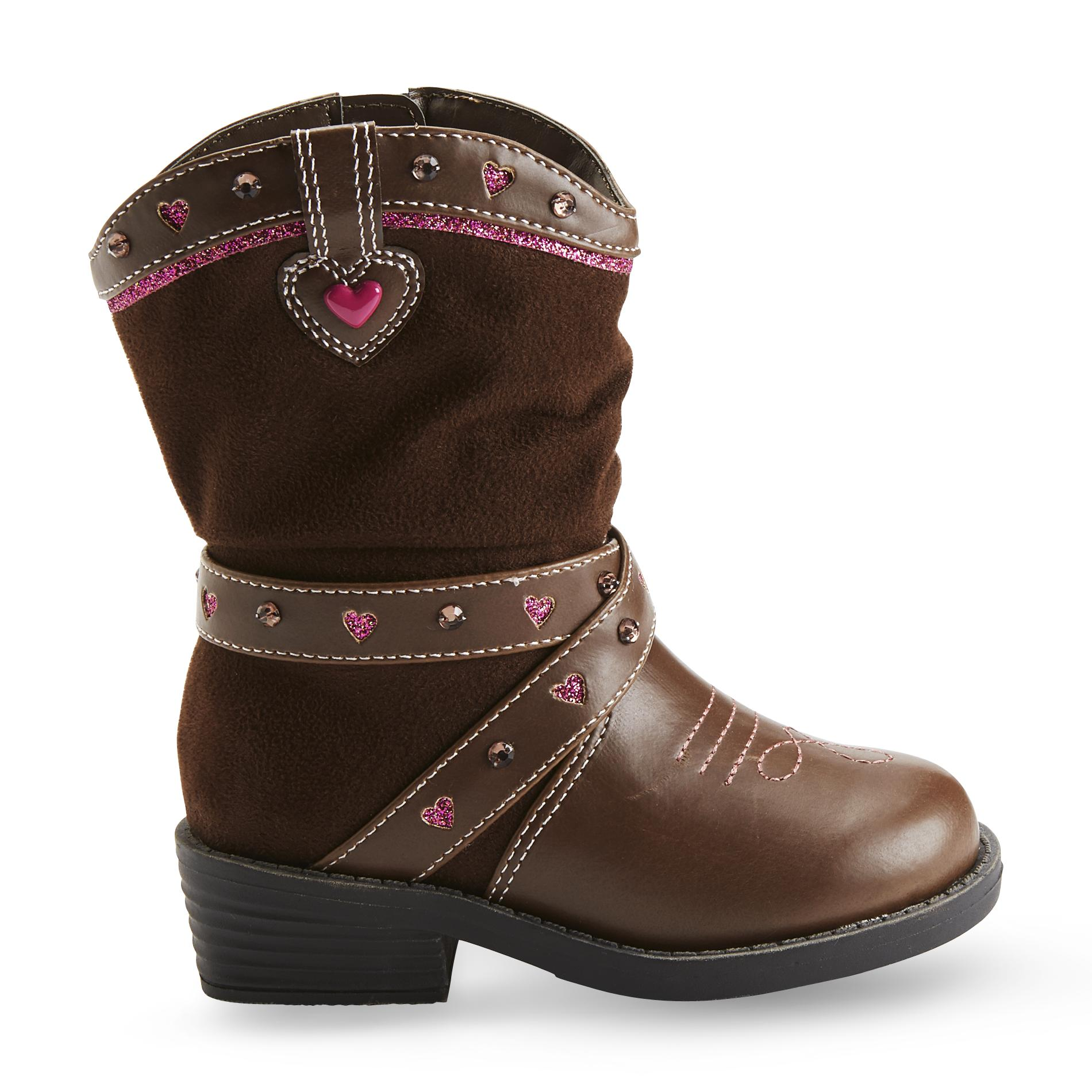 Girls39 Brown Cowboy Boot Dress Your Toddlers In Style