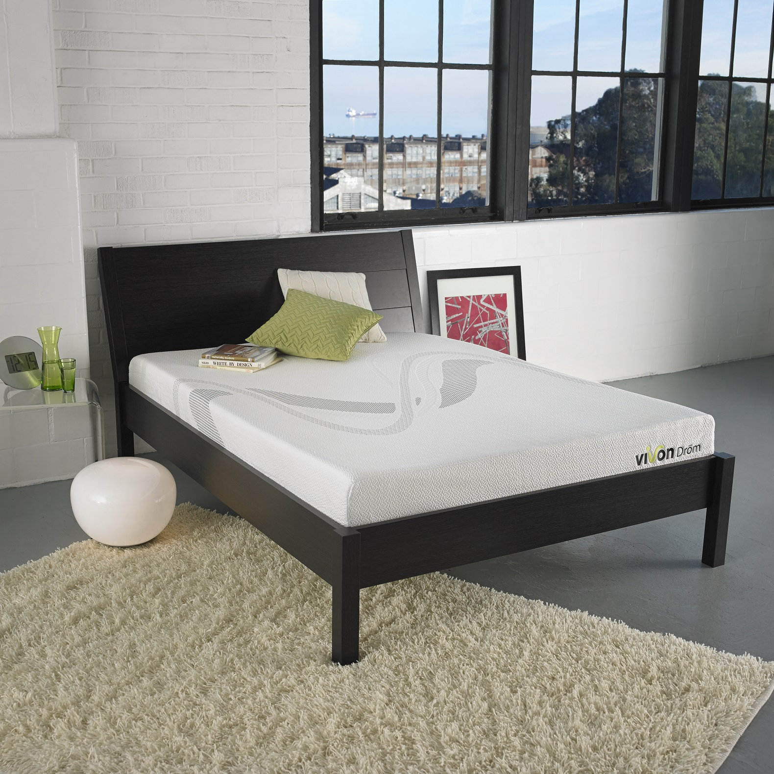 Baby Mattress Kmart Drom 8 Quot Memory Foam Mattress Only Twin Mattresses At Sears