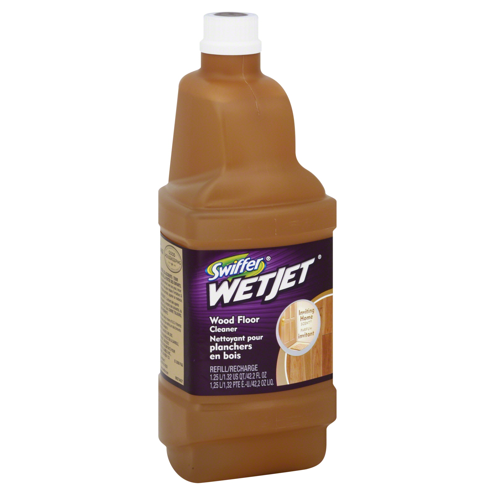 Swiffer wet jet solution wood floor cleaner refill 33 8 fl oz shop your way online shopping earn points on tools appliances electronics more