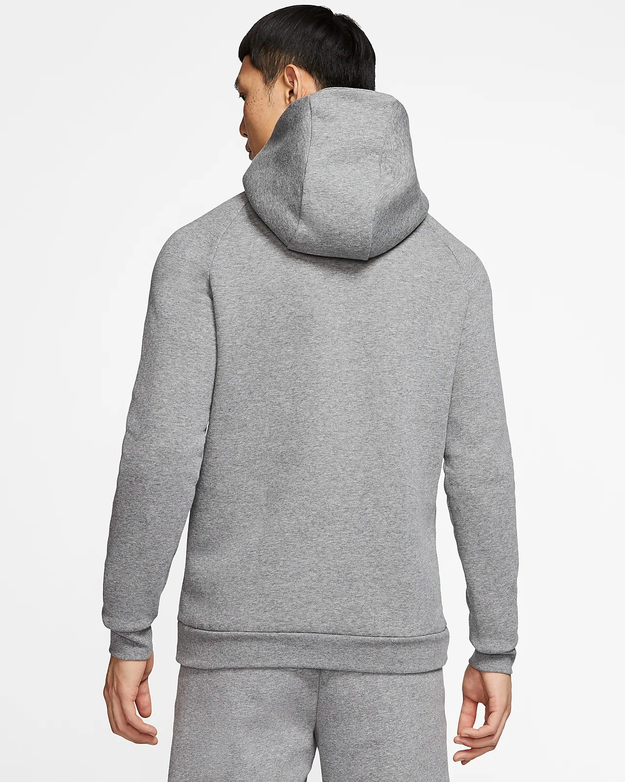 Nike Hoodie Carbon Heather Jordan Jumpman Logo Men S Fleece Pullover Hoodie