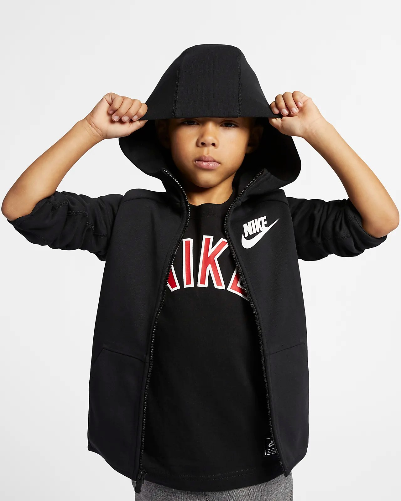 Nike Fleece Kinder Nike Sportswear Tech Fleece Hoodie Für Jüngere Kinder