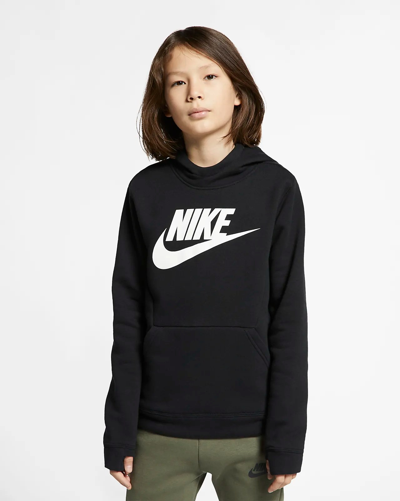 Nike Fleece Kinder Nike Sportswear Fleece Hoodie Für ältere Kinder
