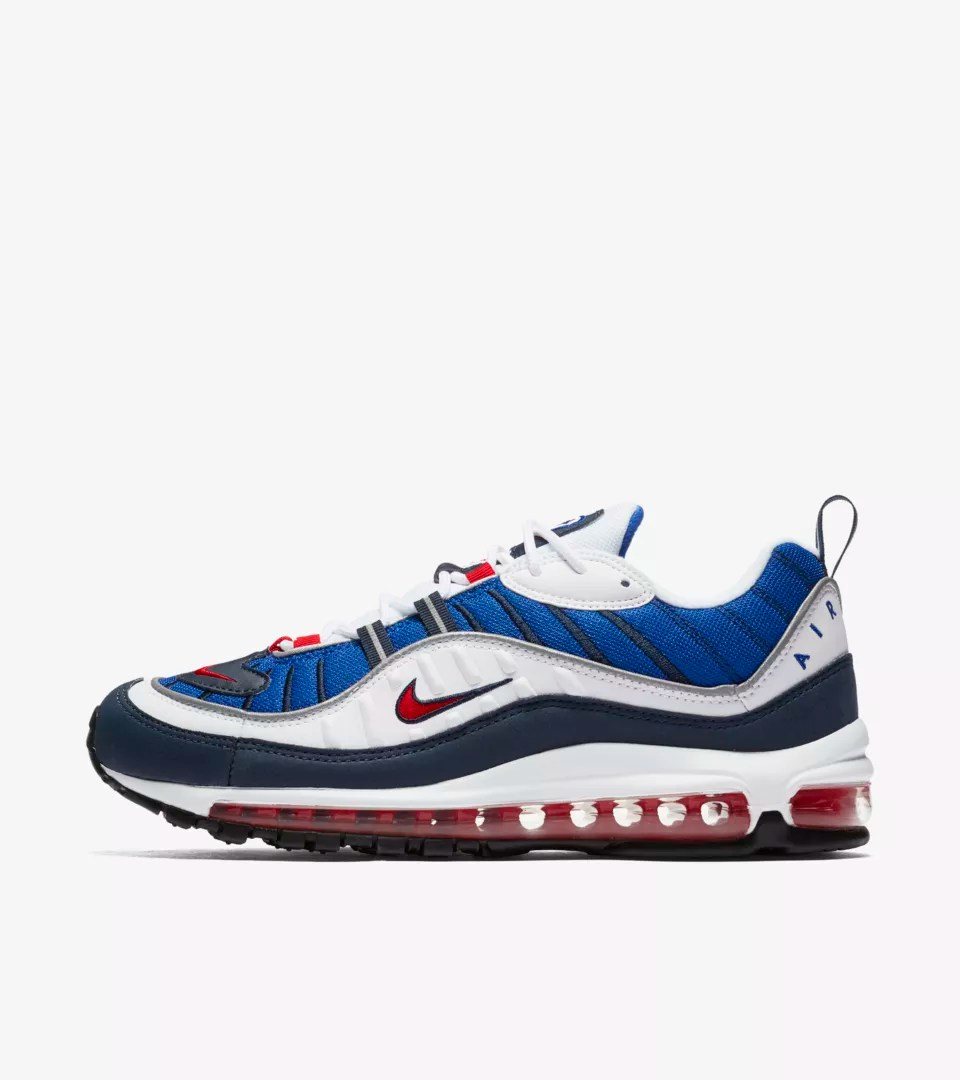 Terrasse Du Port Nike Date De Sortie De La Nike Air Max 98 White And University Red