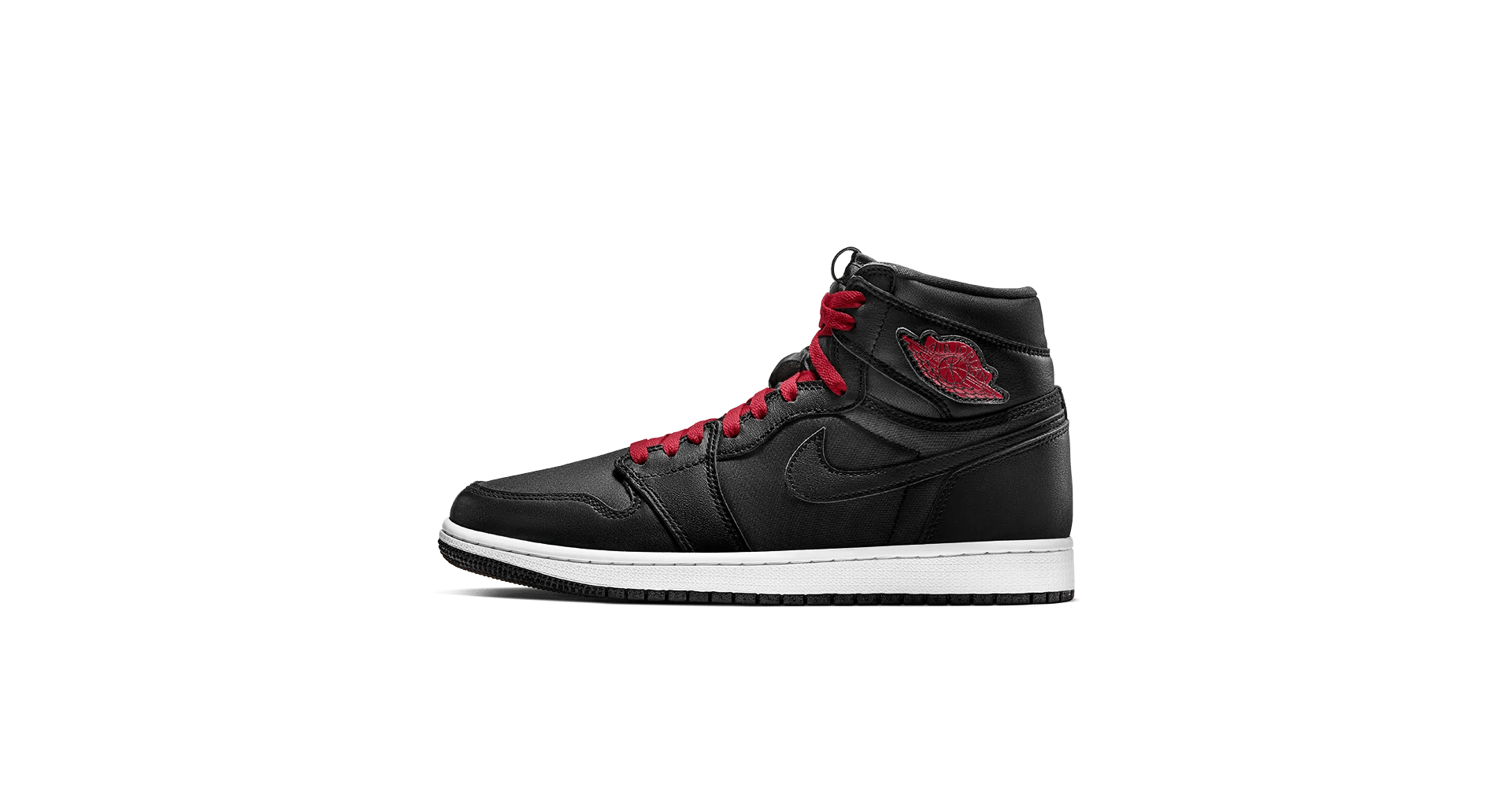 Red 1.com Air Jordan 1 High Black Gym Red Release Date Nike Sneakrs Sg