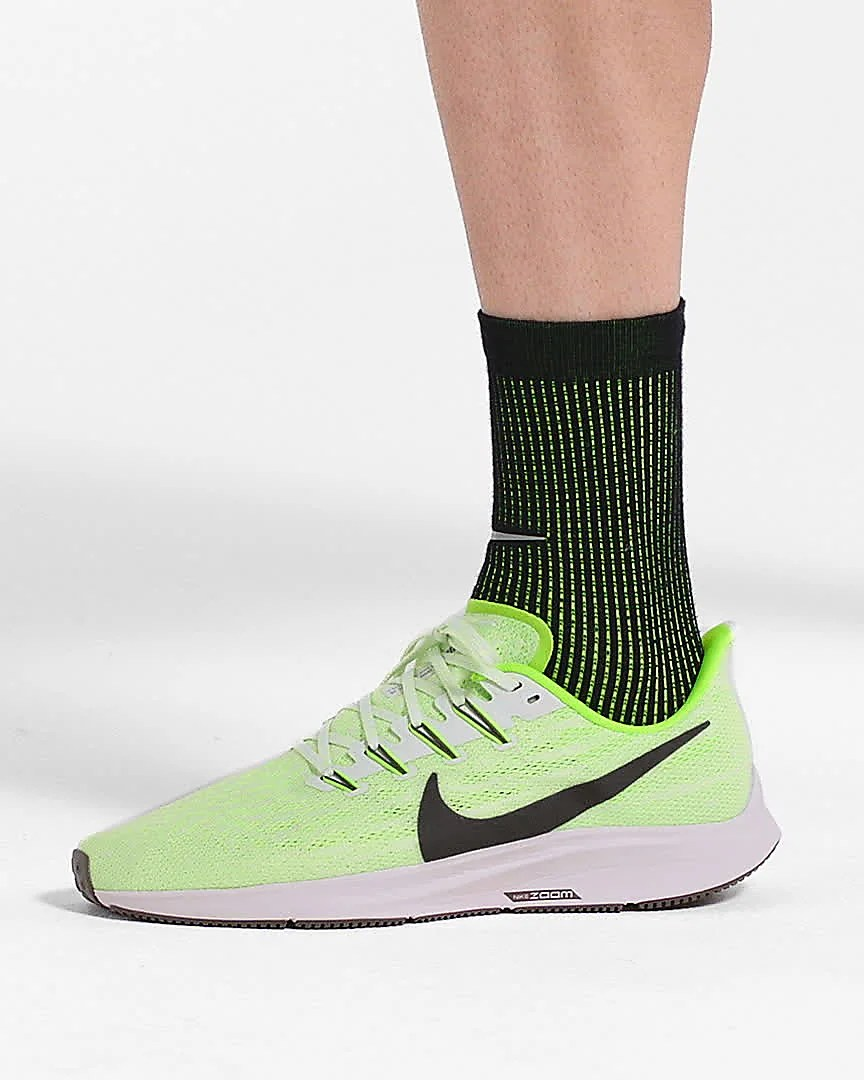 Nike Zoom Grey And Green Nike Air Zoom Pegasus 36 Men S Running Shoe