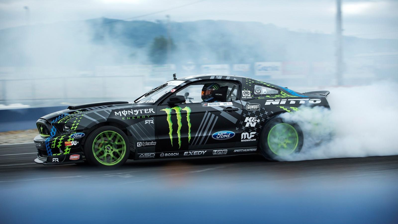Ken Block Hd Wallpaper Wallpaper Race Cars Ford Mustang Drifting Sports Car