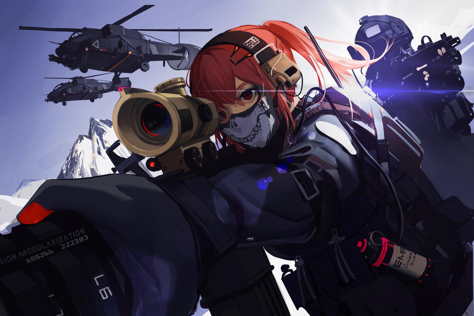 4k Girls Und Panzer Wallpaper Wallpaper Military China Weapon Soldier Anime Girls