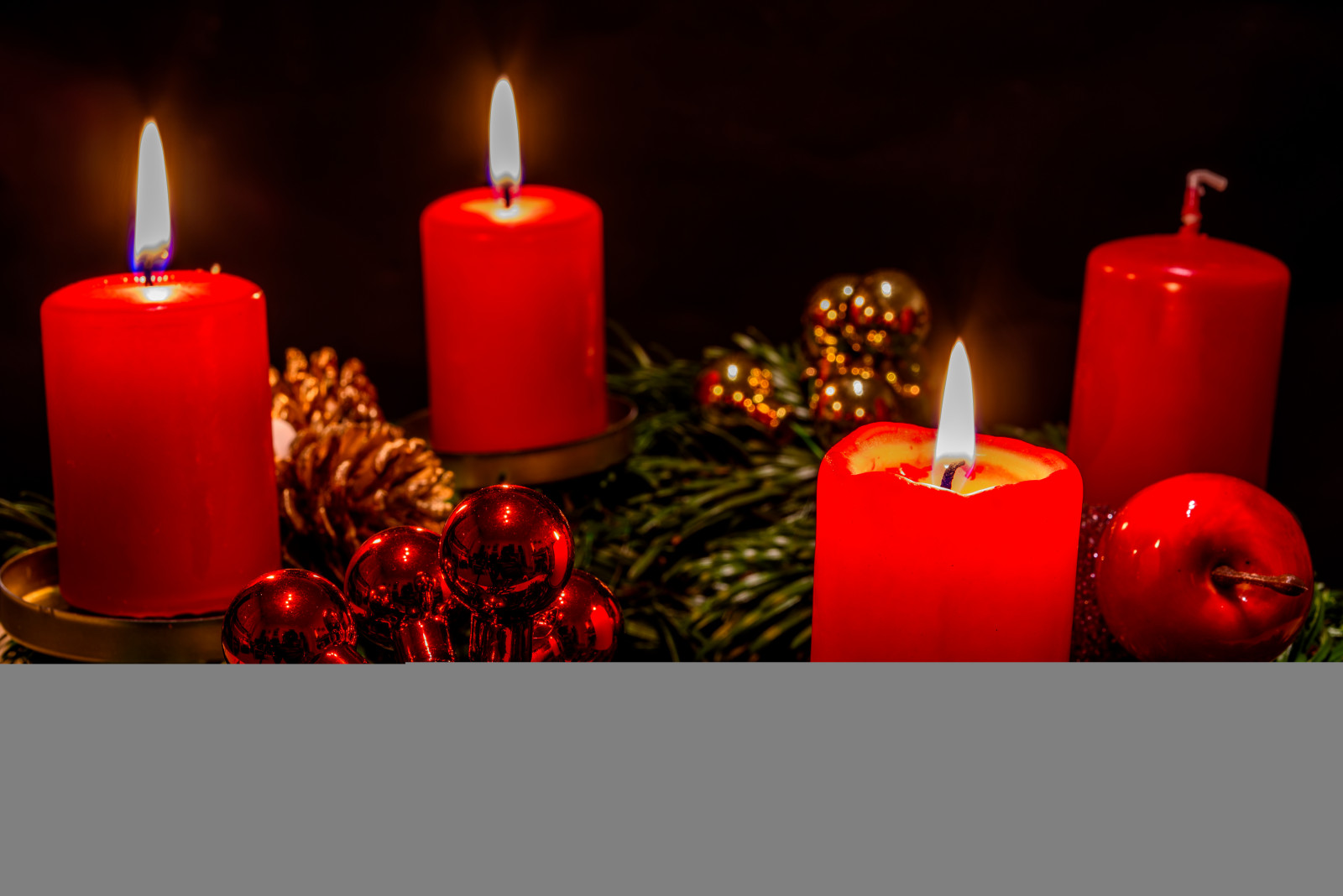 Advent Weihnachten Wallpaper Red Candles Christmas Holiday Lightroom Lowkey