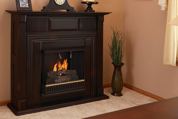 Ventless Fireplace Facts Ventless Fireplace Information
