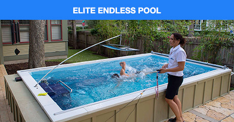 Endless Pools Indoor Outdoor Pools Adjustable Swim Current - Gegenstrom Pool
