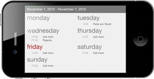 Calvetica, The Minimal App That Reinvented Calendars On My iPhone