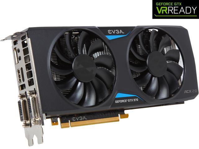 EVGA GeForce GTX 970 04G-P4-2974-KR 4GB SC GAMING w/ACX