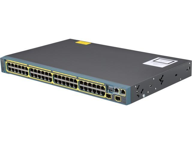 CISCO Catalyst 2960-S Series WS-C2960S-48TS-S Managed