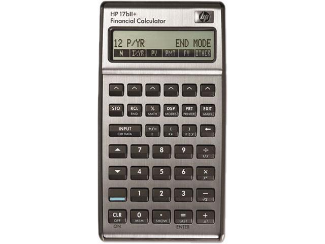 HP 17BII+ Financial Calculator - Newegg