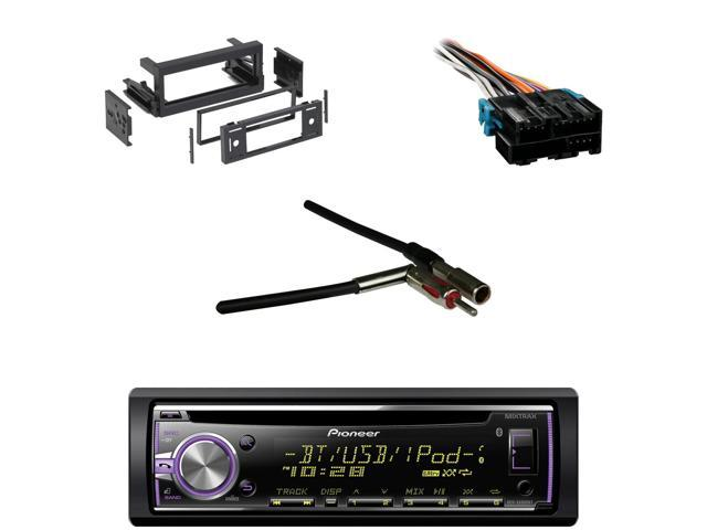 Bluetooth Pioneer CD Car Receiver,GM Wire Harness, Antenna