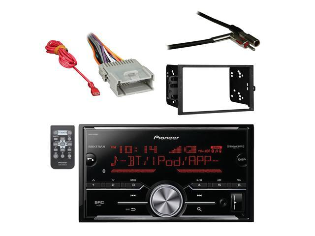 Pioneer Vehicle Digital Media Double DIN Receiver with Bluetooth