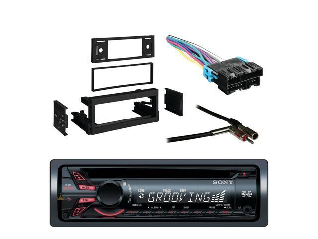 Sony Xplod Cd Receiver with 52x4 Watt Amplifier with Metra Dash Kit