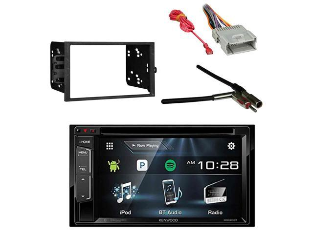 Kenwood Multimedia Receiver, Bluetooth with Metra 2-DIN Installation