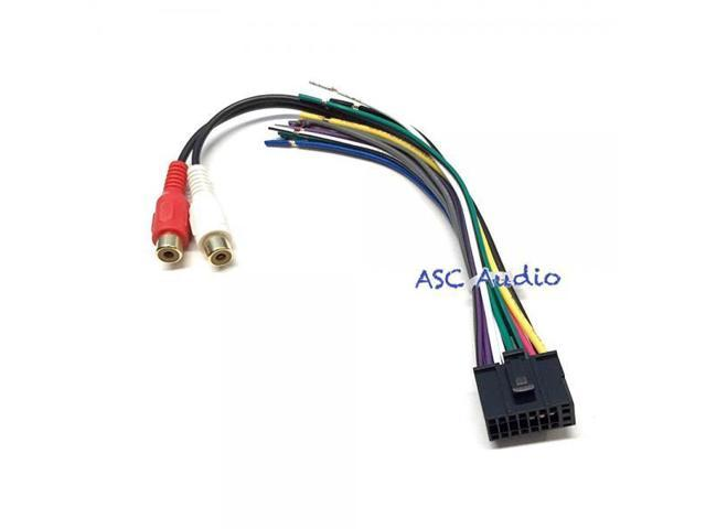 ASC Audio Wire Harness and Speaker Plug for Dual Audio 16 Pin XD