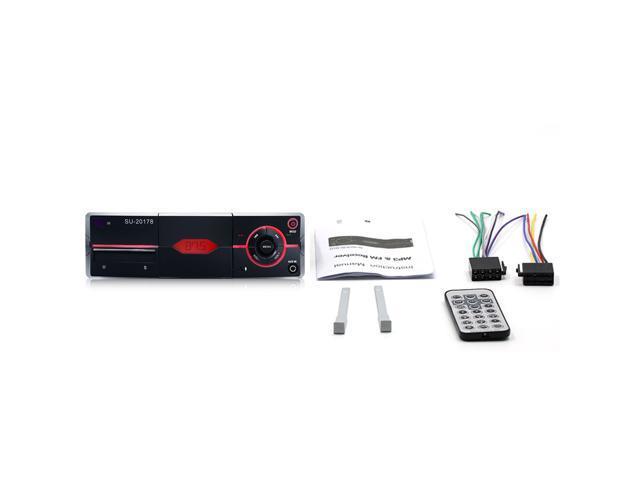 SU-20178 1 Din Bluetooth Vehicle Car MP3 Player Stereo Audio