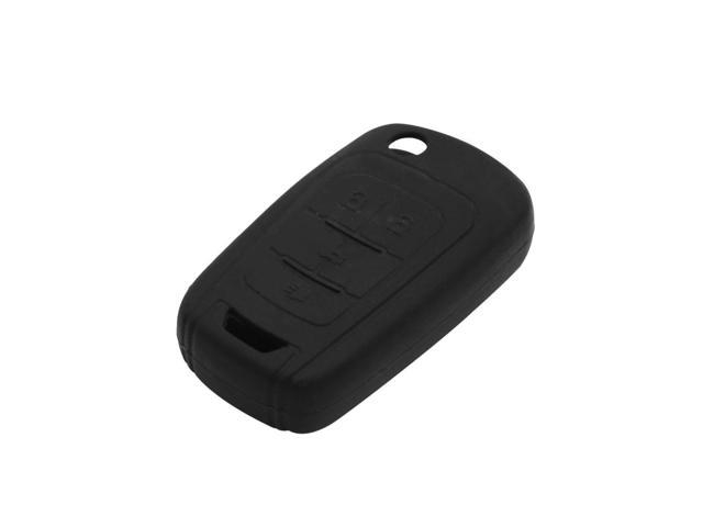 Black Auto Car Remote Key Case Holder Shell Cover For