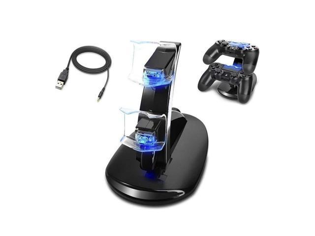 Ps4 Controller Charger Dual Usb Fast Charging Dock Station