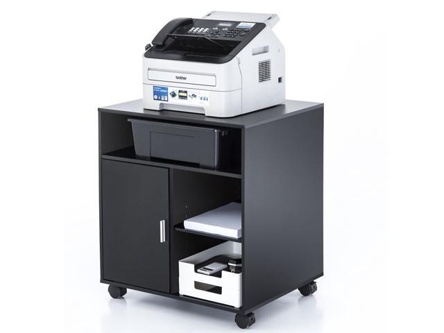 Fitueyes Office Printer Cart Computer Stand File Storage