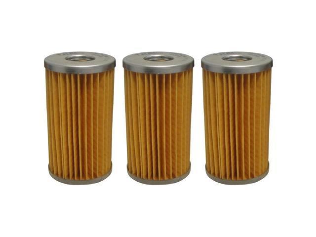 425-34636 Fuel Filter Qty 3 for Yanmar B27 B37 B50 F320 F360 F420