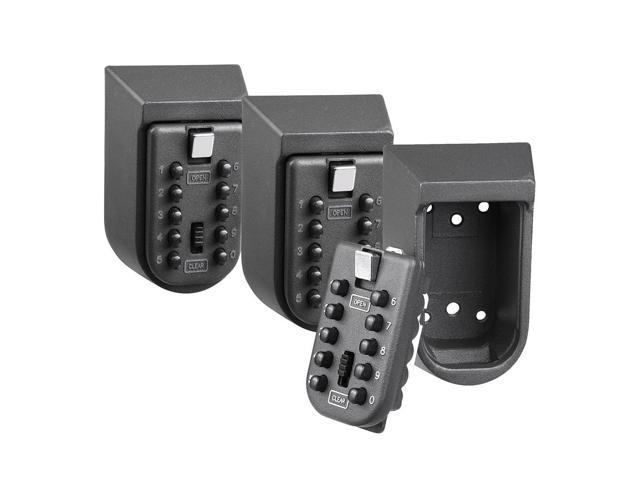 Wall Mounted Combination Key Lock Box Safe Security