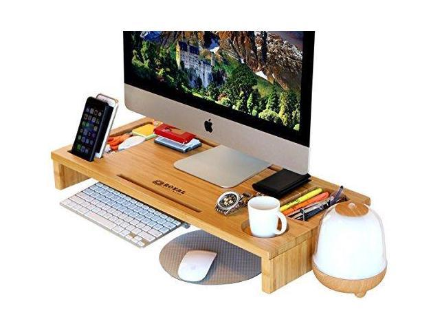 Computer Monitor Stand Monitor Riser Laptop Stand And