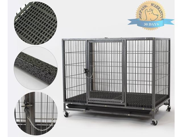 Homey Pet 37quot Homey Pet Open Top Heavy Duty Dog Pet Cage
