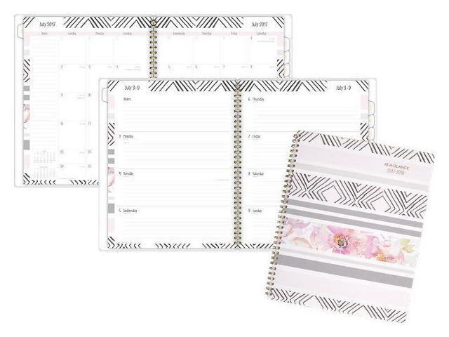 At-A-Glance Kathy Davis Academic Weekly-Monthly Planner