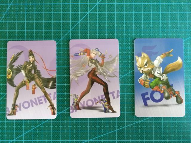 3pcs Bayonetta 2 AMIIBO NFC PVC TAG Cards for NS Switch Wii U