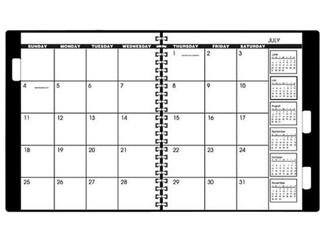 AT-A-GLANCE 7092378 2018 Monthly Planner Refill for 70-236 or 70
