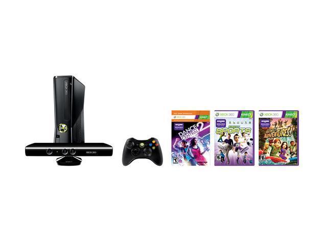 Microsoft Xbox 360 Bundle 250 Gb Hard Drive Neweggcom