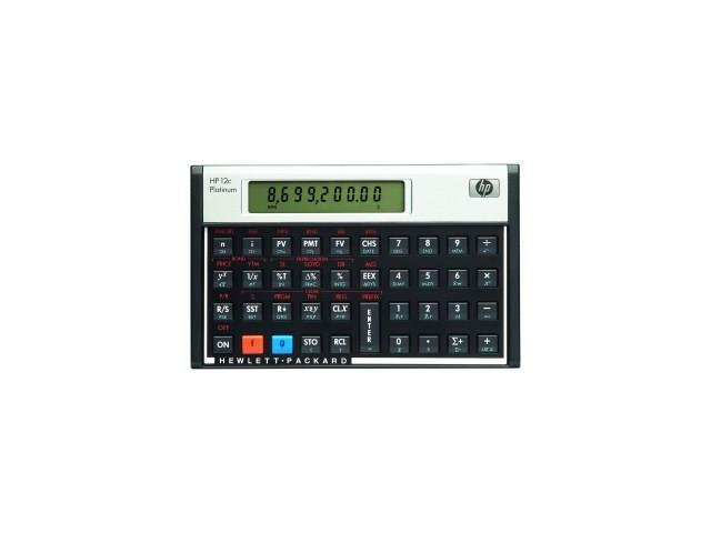 12c Platinum Financial Calculator HP 12c Platinum Financial