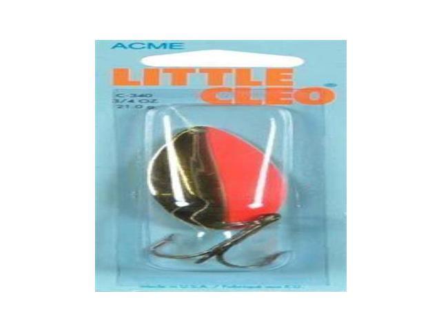 Acme Little Cleo 3 4oz Gold Fl Strp C 340 Gfs Fishing