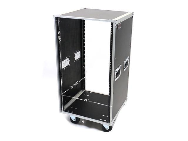 20 Space 20u Amp Effects Pro Audio Equipment Studio Rack