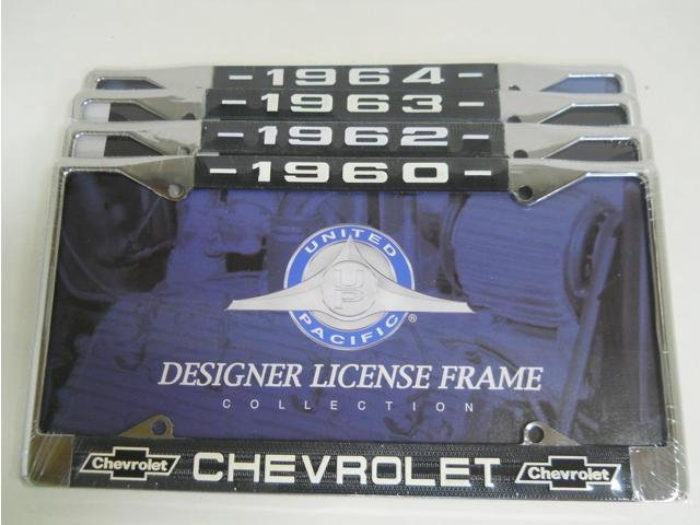 Pick 1 1960 1962 1963 1964 Car Truck Chevy License Plate