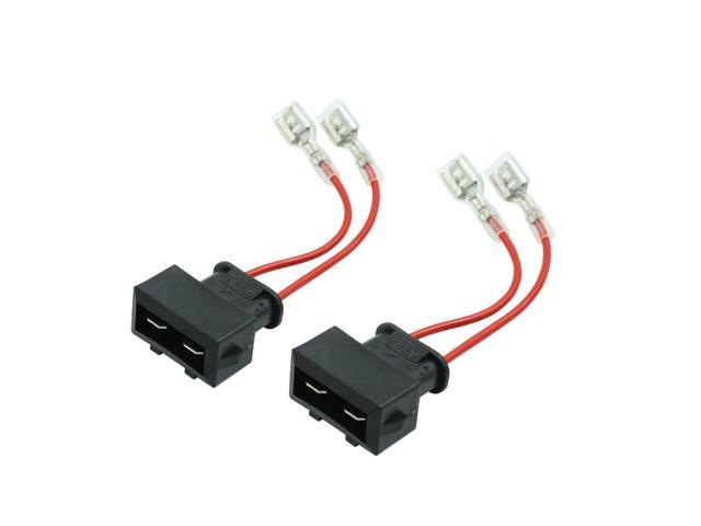 DC 12V Car Speaker Wire Harness Adapter Connector for