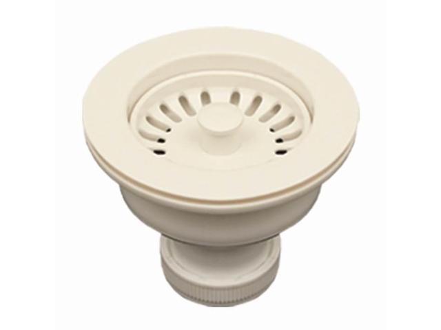 35 In Kitchen Sink Basket Strainer White Neweggcom